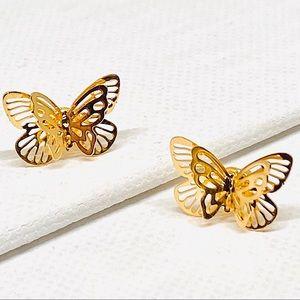 🔆3/$30 🎉HP!🎉 New Gold Butterfly Earrings